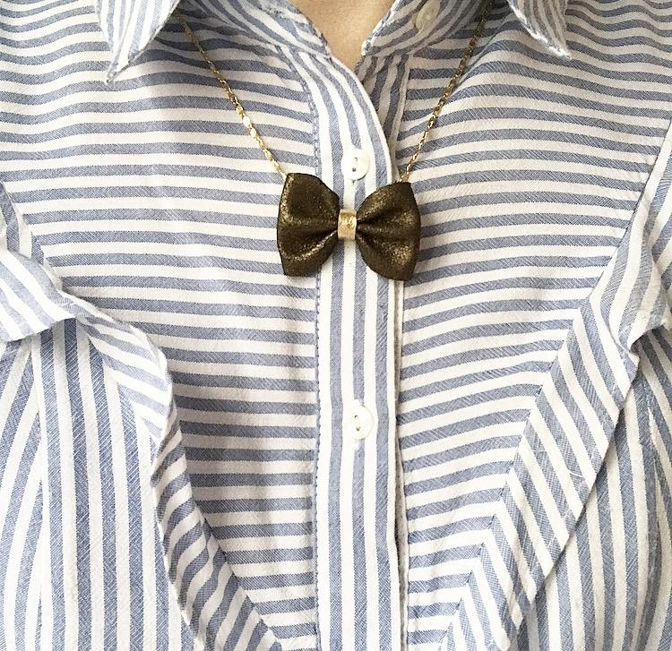 collier juliette cuir bijou femme little madame