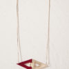 necklace camille roussel paris leather jewellery woman jewel leather