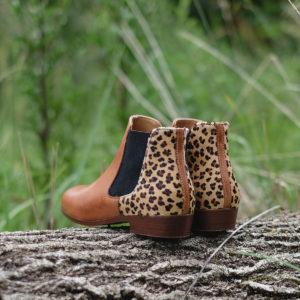 chelsea boots léopard PIED DE BICHE L'Erudite Concept Store