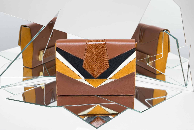 isadora limare prysm sahara leather fish woman bag