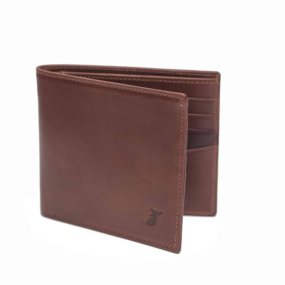 Wallet Coffee bean and Bordeaux by PIED DE BICHE