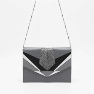 Bag PRYSM Silver Grey by Isadora Limare