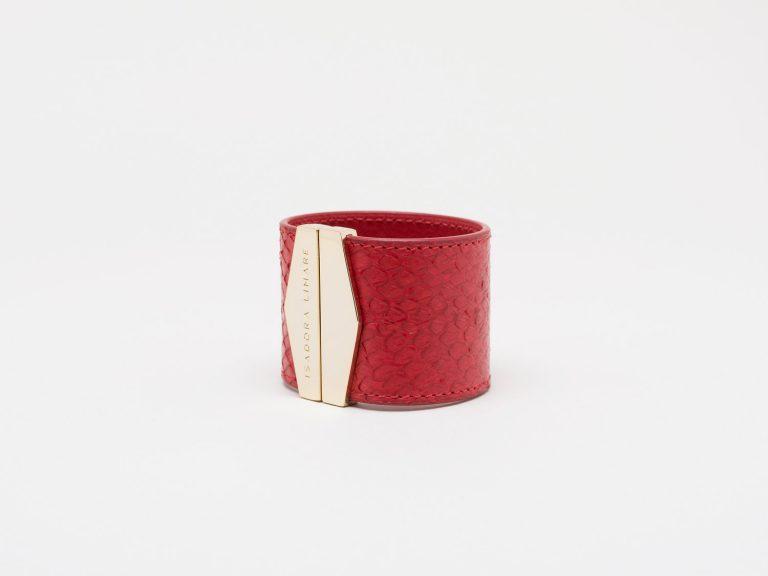Cuff POMODORO by Isadora Limare