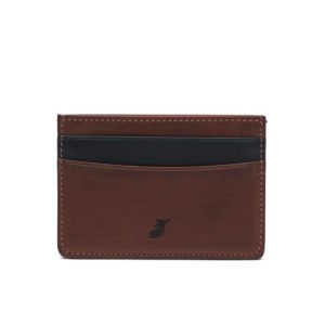 Cardholder Coffee Bean and Night Blue by Pied de Biche