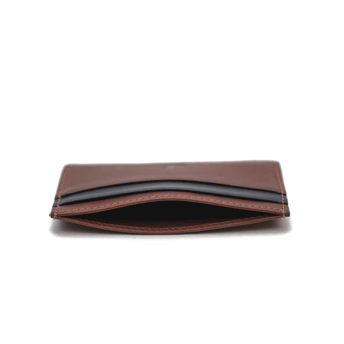 porte-cartes pied de biche cuir