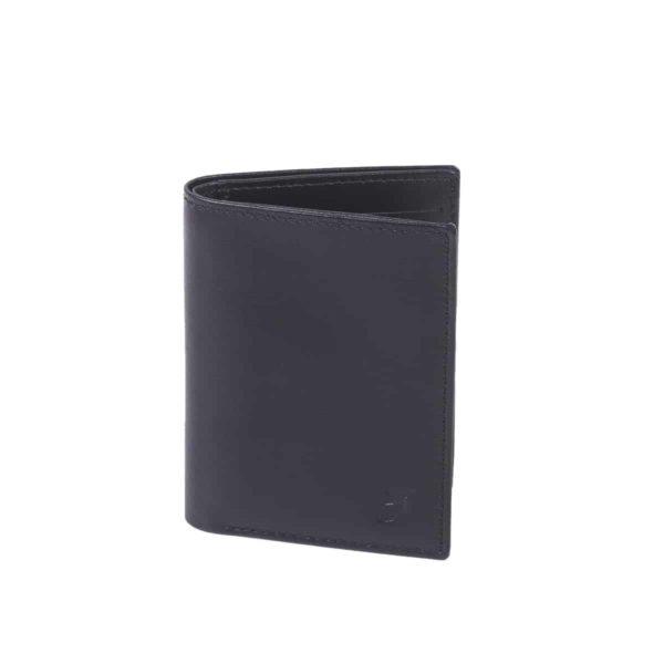 Cardholder Black booklet size by Pied de Biche