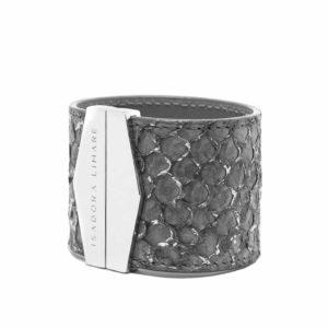 Pulsera Silver Grey por Isadora Limare