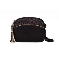 bonnie bag golden leather velvet black maradji l'Erudite Concept Store