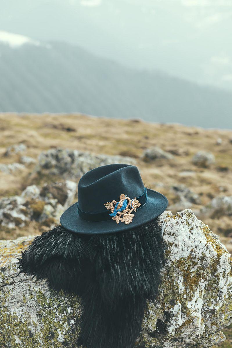 SASHA NIGHT chapeau brodé by MARADJI - L'Erudite Concept Store