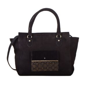 wayne ebony maradji bag woman fashion sac femme velours