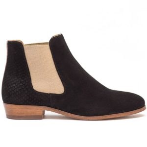 leather velvet boots shoes pied de biche woman womenstyle L'Erudite Concept Store