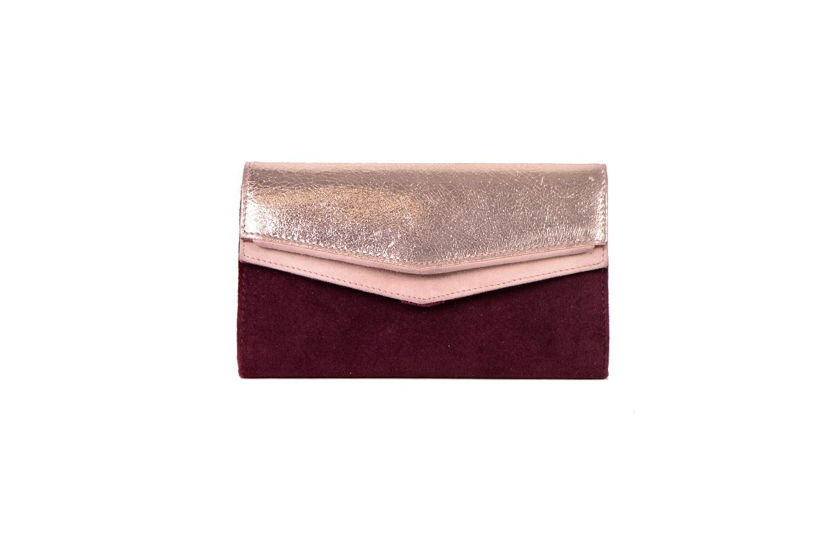 Wallet IVAN Burgundy by Maradji
