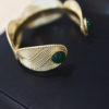 cuff bracelet athenais collection constance jewellery woman gold jewel stones semi precious