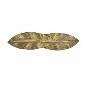 Brass hair clip bronzebrass Coralie de Seynes