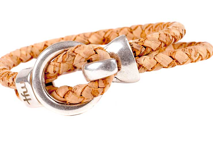 Cambio bracelet cuir liège bijou homme femme Time for Wood L'Erudite Concept Store