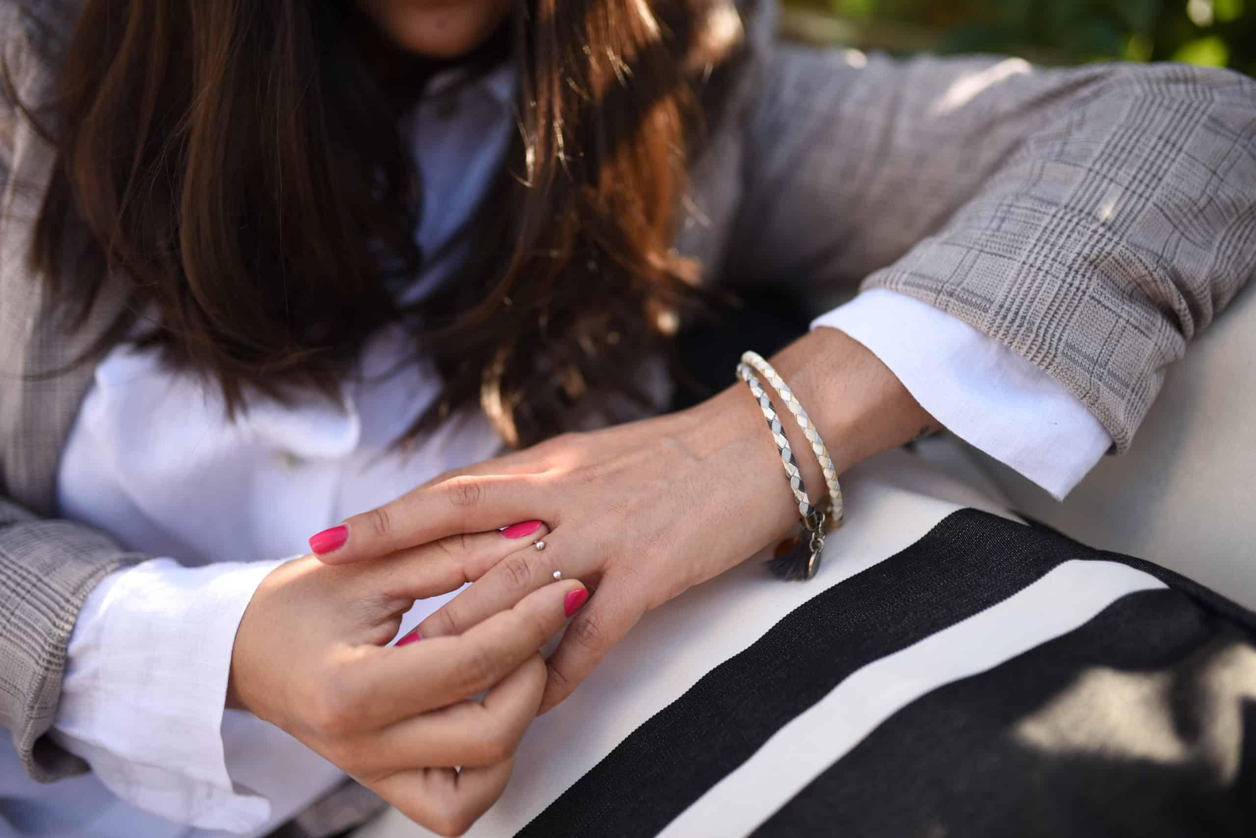ring pearl perle silver coralie de seyne handmade jewelry woman fashion