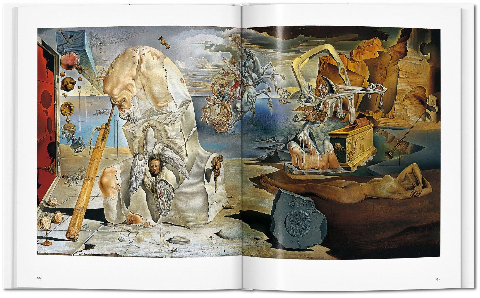 dali libro arte taschen pintura
