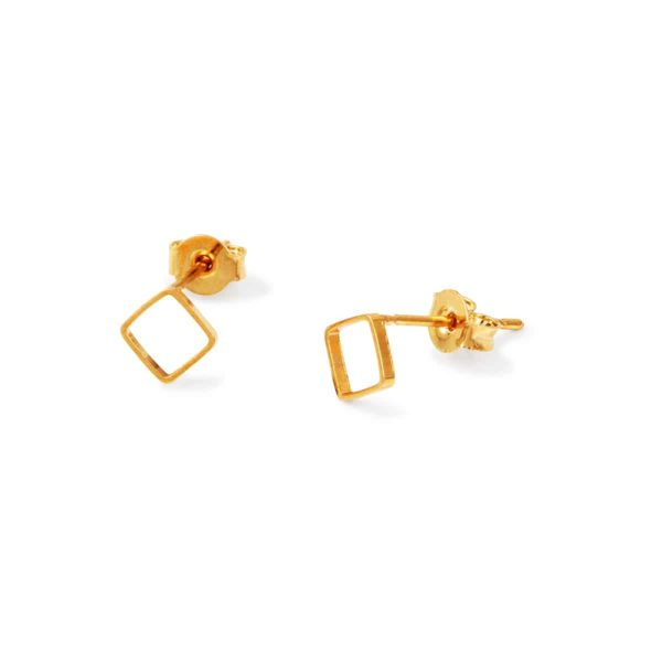 LA earrings gold fashion woman bdm studio