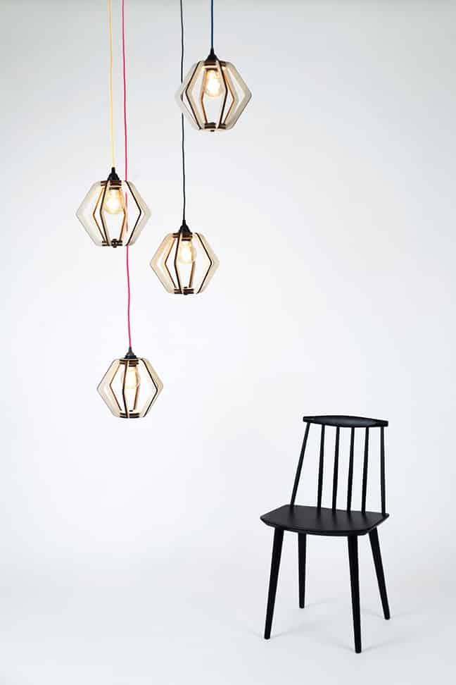 lanterna lampara a montar kokot studio design bombilla decoración madera