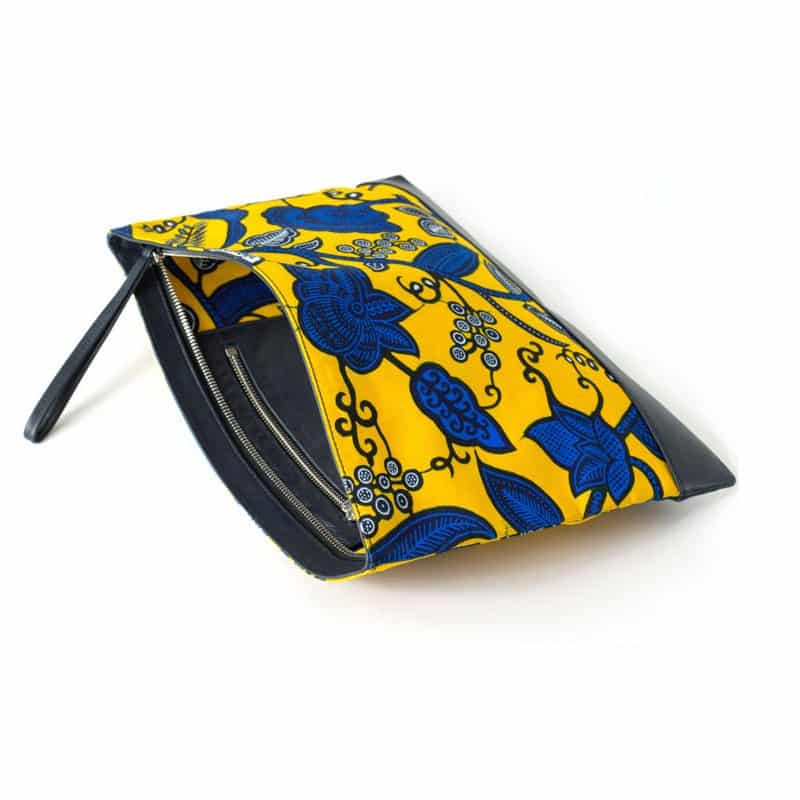 wax sobre bolso hecho a mano complementos moda mujer hombre blackhats paris de cuero piel