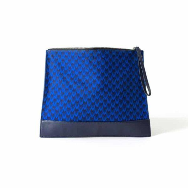 bag clutch wax handmade Blackhats Paris leather porto-novo fashion accessories man woman