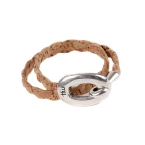 bracelet maca leather cork time for wood l'erudite concept store