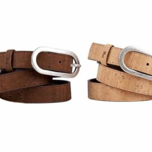 sylva woman belt leather cork time for wood