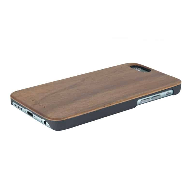Coque Iphone en noyer by TIME FOR WOOD L'Erudite Concept Store bois