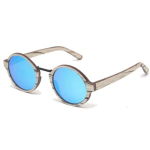 oly blue sunglasses rezin wood wooden handmade paris