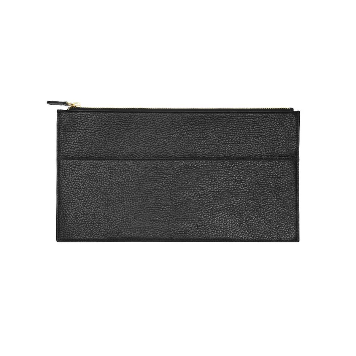 handmade pochette plate cuir coralie de seynes sac L'Erudite Concept Store