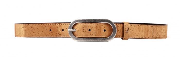 sylva mujer cinturón de cuero de corcho time for wood