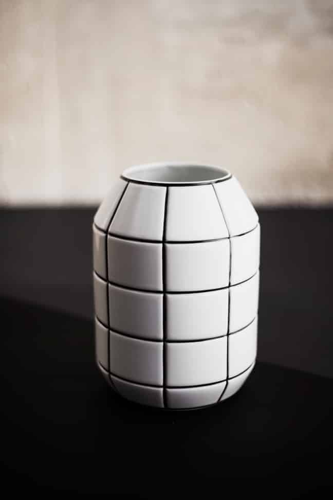 Vase GRID by Kokot Studio