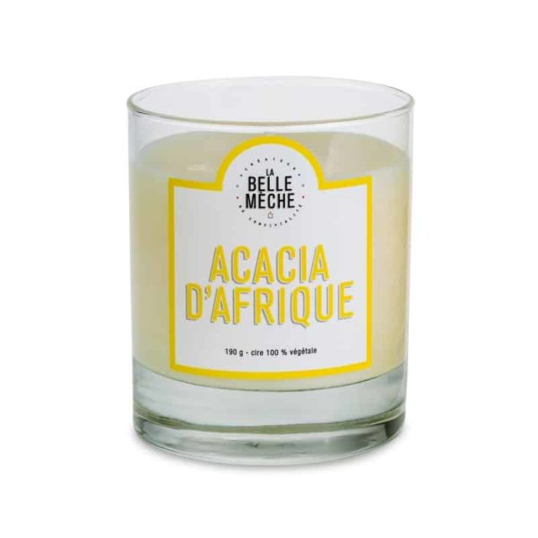 Candle African Acacia by La Belle Mèche