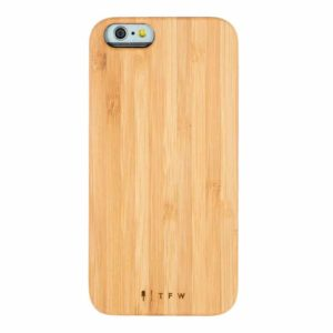 bamboo Iphone case Time for Wood wood