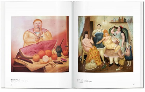 book taschen art botero