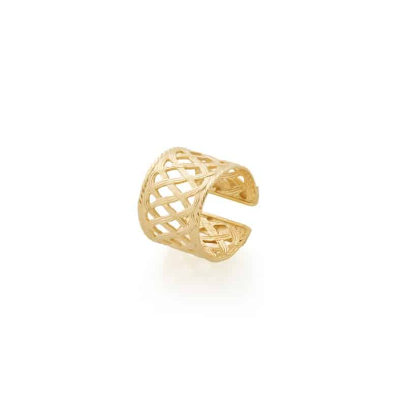 aristide ring collection constance golden adjustable