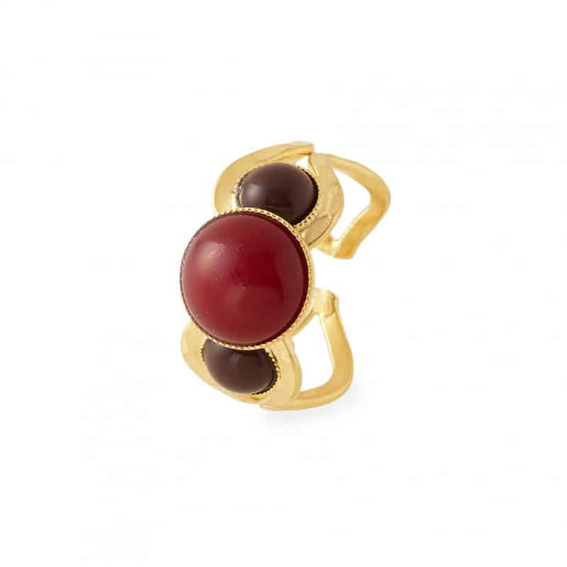 Anillo ajustable Augustine collection constance joyas mujer