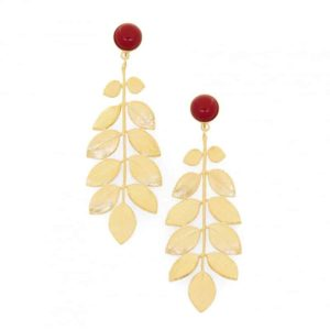 Ares earrings semi-precious stones Collection Constance barcelona