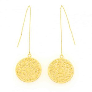 pendientes leto collection constance woman jewellery golden jewels