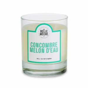 Candle Cucumber Watermelon by La Belle Mèche