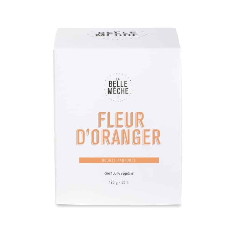 bougie naturelle fleur d'oranger La Belle Mèche L'Erudite Concept Store