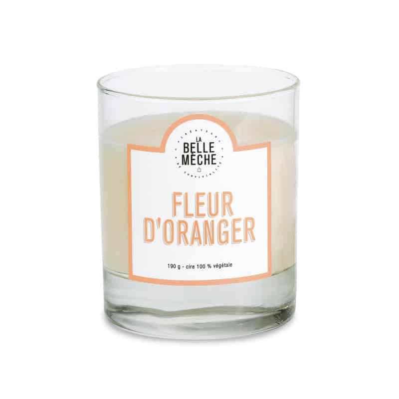Candle Oranger Flower by LA BELLE MECHE