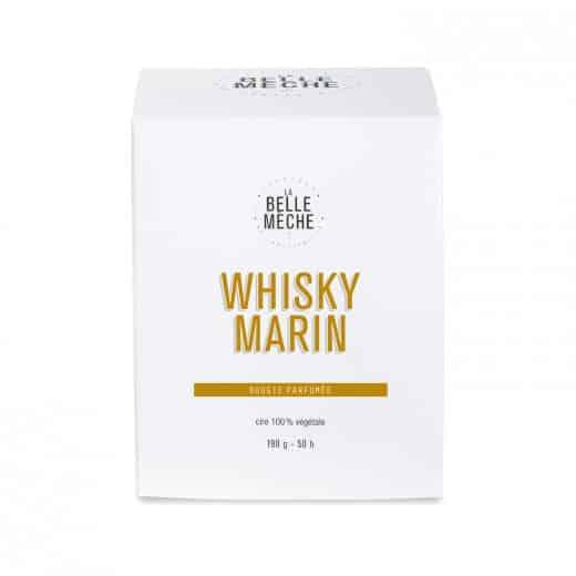 bougie parfumée naturelle senteur whisky marin la belle meche L'Erudite Concept Store