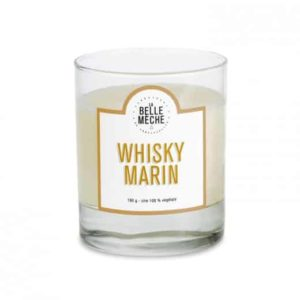 natural scented candle sea whisky la belle meche L'Erudite Concept Store