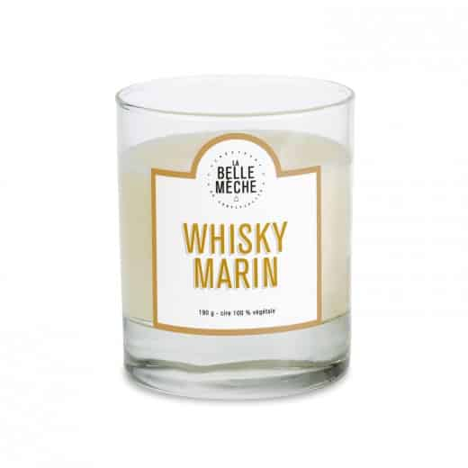 Candle Marine Whisky by La Belle Mèche