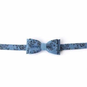 pajarita hombre azul hecho a mano complemento moda hacter