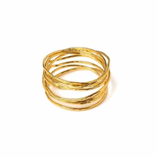 collection orient - bague grand orient fashion woman gold