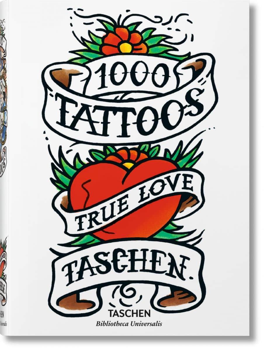 1000 tattoos par TASCHEN