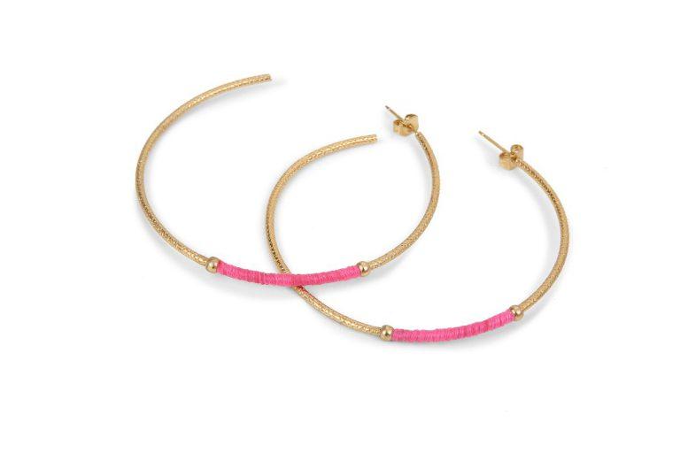 earrings Havane BDM STUDIO woman jewellery pink