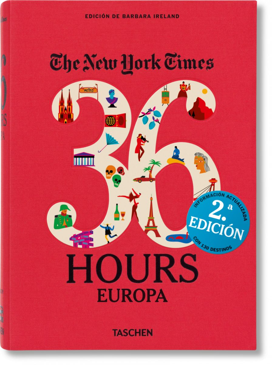NYT 36 hours Europe by TASCHEN